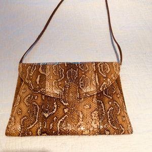 Vintage Bags - Vintage Snakeskin Shoulder Bag